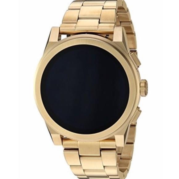 171102ebea0b New MK unisex Grayson touchscreen smartwatch gold